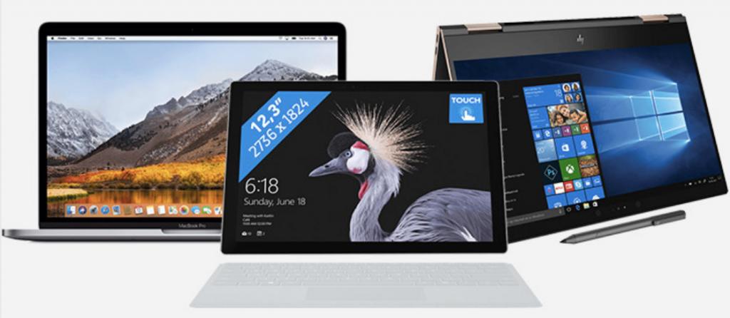 welke laptop aanbieding kopen